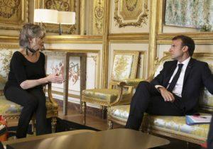 Brigitte Bardot rencontre le président Emmanuel Macron
