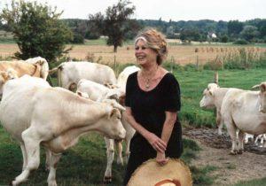 Brigitte Bardot, animaux de ferme, vaches, bovins, viande, végétarien