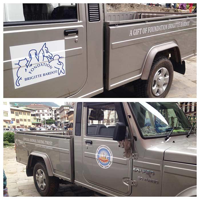 fondation brigitte bardot aide association bhoutan asie