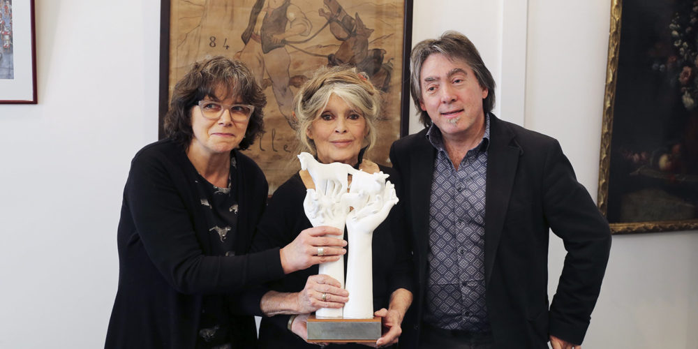 Brigitte Bardot reçoit le « Lifetime Achievement Award » de l'association GAIA