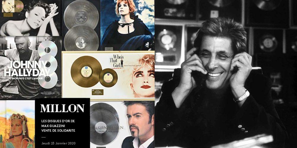 Max Guazzini met en vente 220 disques d'or au profit de la Fondation Brigitte Bardot !