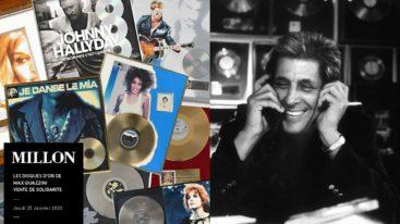 Le 23 janvier, 220 disques d'or seront vendus aux enchères par Max Guazzini au profit de la Fondation !