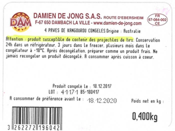 fondation brigitte bardot viande kangourou supermarches