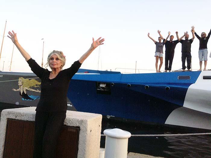 fondation brigitte bardot trimaran bateau navire flotte sea shepherd