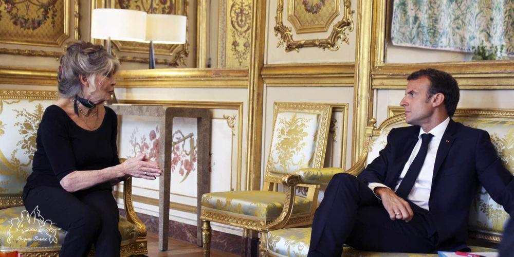 Brigitte Bardot : «Monsieur le Président, passez aux actes!»