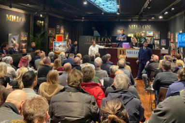 Enorme succès pour la vente de solidarité des disques d'or de Max Guazzini au profit de la Fondation !