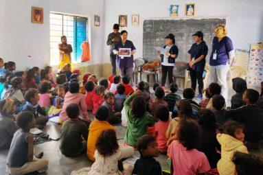 En Inde, la FBB a mené avec succès un programme de stérilisations, de soins et d'éducation des enfants à la protection animale