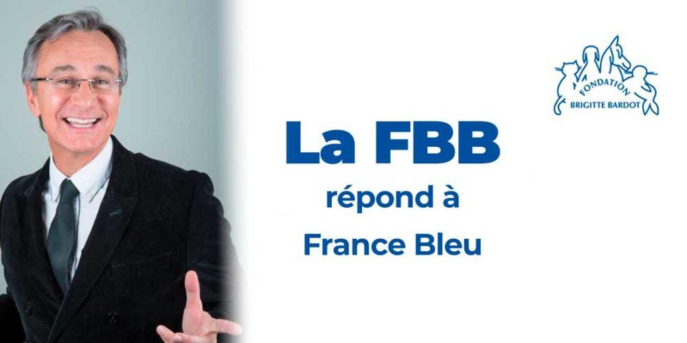 Comment la FBB s'organise en pleine épidémie de Covid-19 ? Bruno Jacquelin, responsable de la communication de la Fondation, répond aux questions de Laurent Petitguillaume sur France Bleu !