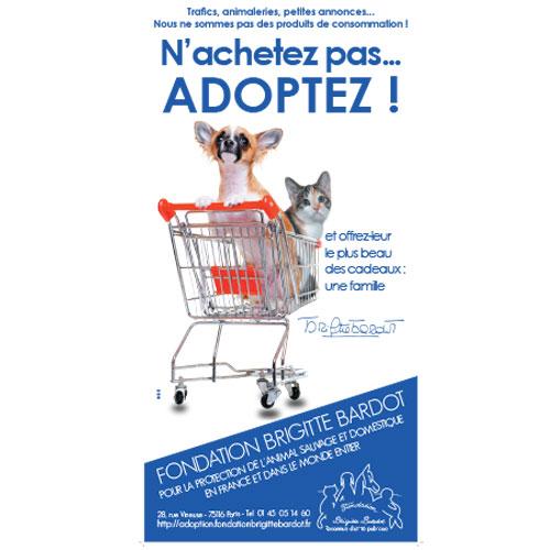 Fondation Brigitte Bardot nachetez pas adoptez