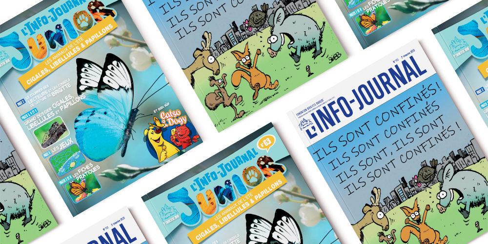 L'Info-Journal n°113 et le Junior n°63 sont sortis !