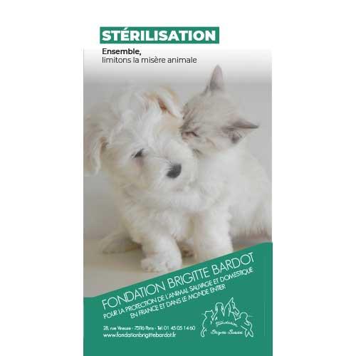 Fondation Brigitte Bardot tract sterilisation