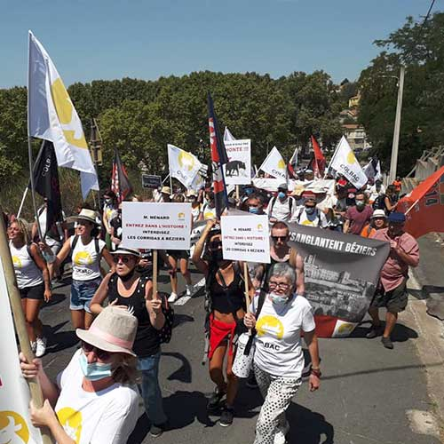 Fondation Brigitte Bardot anti corrida beziers