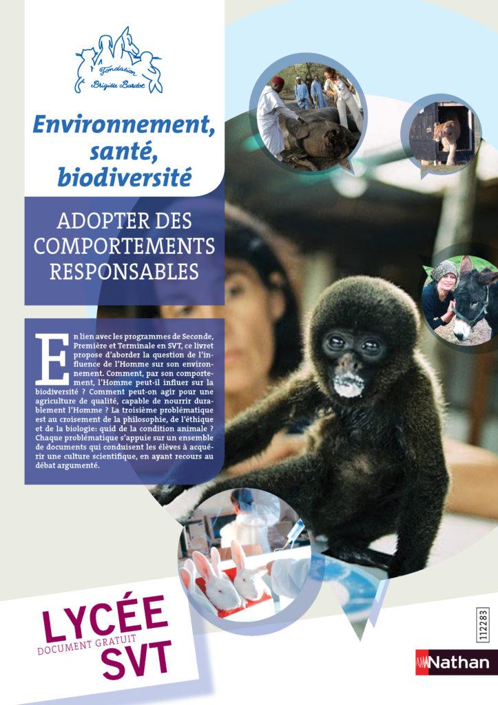 fondation brigitte bardot junior enfants animaux pedagogie protection animale editions nathan professeurs ecole lycee