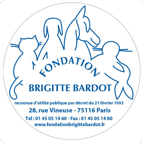 Fondation Brigitte Bardot Sticker