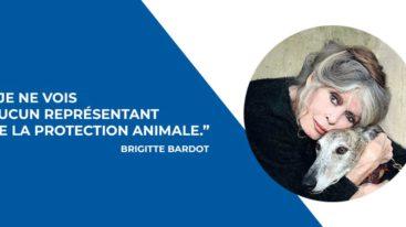 BB interpelle Emmanuel Macron : «Je ne vois aucun représentant de la protection animale»