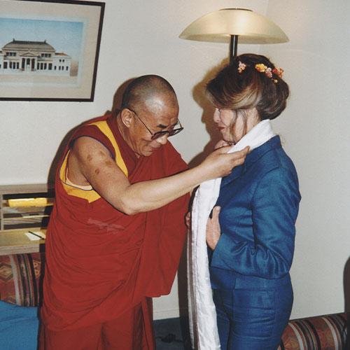 Fondation Brigitte Bardot dalai lama