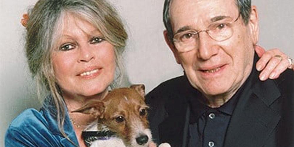 L'hommage de Brigitte Bardot à Robert Hossein